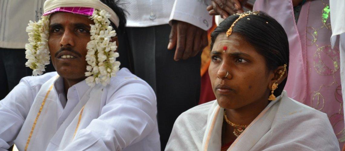חתן וכלה בהודו